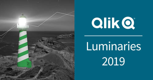 Announcing the Qlik Luminary Class of 2019