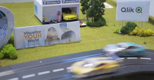 The Qlik IoT Race game