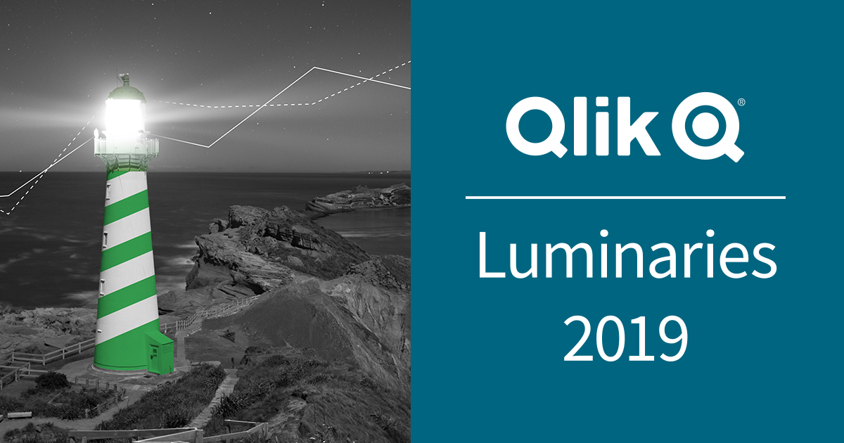 We're so excited to announce the Qlik Luminary class of 2019