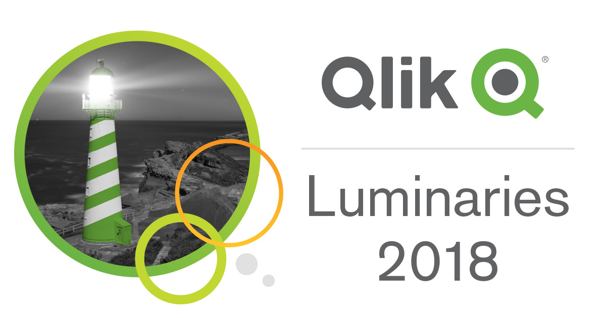 Meet the Qlik Luminary Class of 2018!