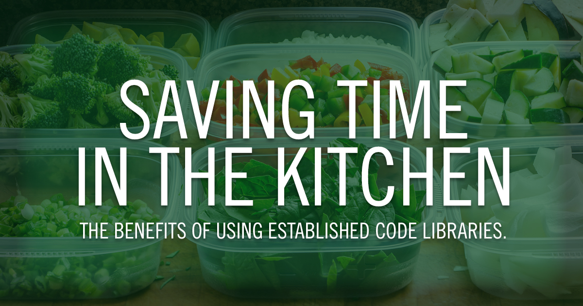 Saving Time in the Kitchen