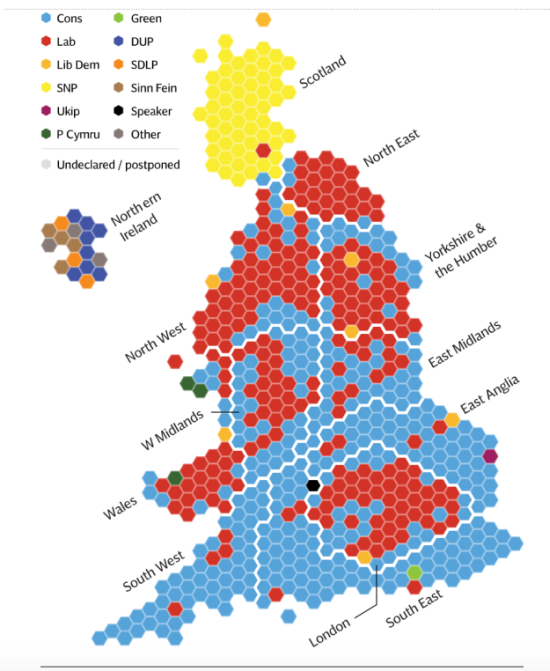 People Are Srmat Data Literacy And Broad Audiences Qlik Blog - 2015-us-election-results-map