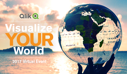 Qlik Visualize your world 2017 virtual event