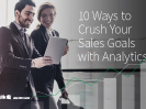 Qlik eBook - 10 Ways to Crush Your Sales Goals with Analytics
