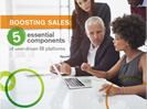 Boosting Sales: 5 essential components of user-driven BI platforms