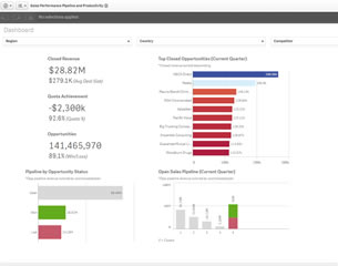 Qlik Demo sales performance